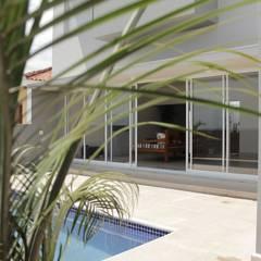 Casa LJ Lozí - Projeto e Obra Piscinas tropicais