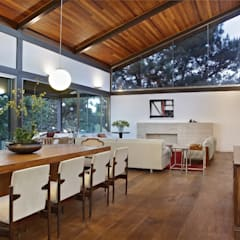 Dining room by David Guerra Arquitetura e Interiores