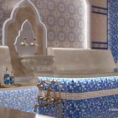 Проект хамама в восточном стиле: Спа в . Автор – А-эксклюзив,