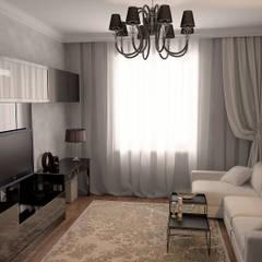 Дизайн 3-комн квартиры: Спальни в . Автор – Проектное бюро O.Diordi