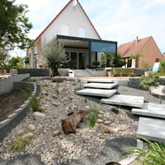 Escaliers: Jardin de style de style Moderne par Schwein Aménagement