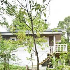 HZ邸: Sen's Photographyたてもの写真工房すえひろが手掛けた庭です。