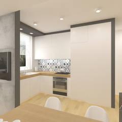 Kuchnia w stylu skandynawskim: styl , w kategorii Kuchnia zaprojektowany przez Architega