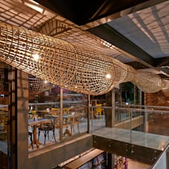 ร้านอาหาร by David Guerra Arquitetura e Interiores