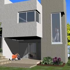 Complejo Duplex: Ventanas de estilo  por ARQUITECTA CARINA BASSINO