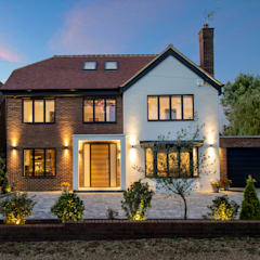 Hadley Wood - North London:  Houses by New Images Ltd