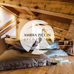 Soppalco / Area relax: Studio in stile  di Ambra Piccin Architetto