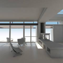 Estar / Acceso: Livings de estilo  por 1.61 Arquitectos