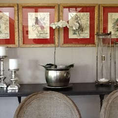 Casa charmosa em Monte Mor - SP: Salas de jantar  por Célia Orlandi por Ato em Arte