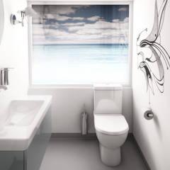 łazienka: styl , w kategorii Jachty i motorówki zaprojektowany przez oshi pracownia projektowa