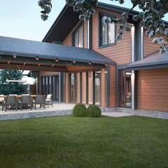 بلكونة أو شرفة تنفيذ Way-Project Architecture & Design,