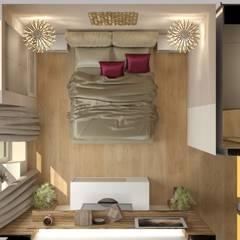 Спальня вид сверху: Спальни в . Автор – Марина Виноградова