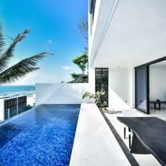 IR邸: Sen's Photographyたてもの写真工房すえひろが手掛けたプールです。