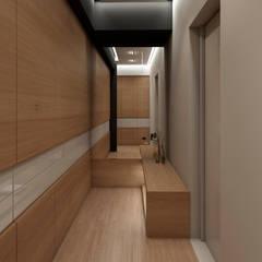 APARTAMENTO JS: Closets de estilo  por NOGARQ C.A., Moderno