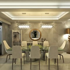 Villa Arellano: Comedores de estilo  por NOGARQ C.A., Moderno