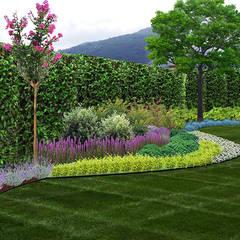 konseptDE Peyzaj Fidancılık Tic. Ltd. Şti. – Üst bahçe: akdeniz tarzı tarz Bahçe