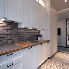 PARIS: styl , w kategorii Kuchnia zaprojektowany przez Kołodziej & Szmyt Projektowanie wnętrz,