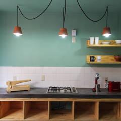 Cocinas de estilo  por Apaloosa Estudio de Arquitectura y Diseño