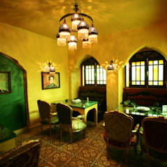Abou El-Sid restaurant - Gouna branch:  Commercial Spaces by THE Studio