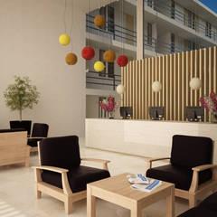 LOBBY : Hoteles de estilo  por EMERGENTE | Arquitectura