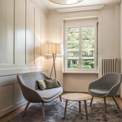 steps & milestones Zürich :  Bürogebäude von objekt 13 Innenarchitektur