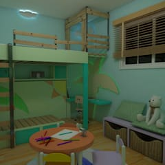 Nursery/kid's room by Rbritointeriorismo