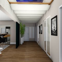 Pasillos y vestíbulos de estilo  por Studio²
