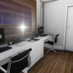 Escritório Moderno: Escritórios  por Studio²