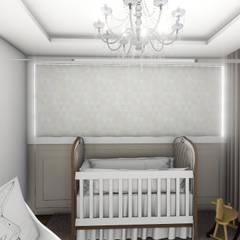 Quarto bebê neutro: Quarto infantil  por Studio²