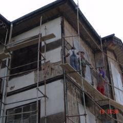 İNDEKS YAPI TASARIM – ahşap uygulamalar: rustik tarz tarz Evler