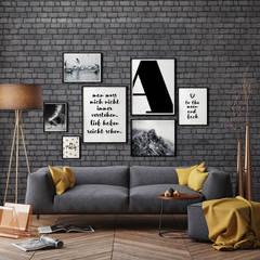 de K&L Wall Art Moderno Papel