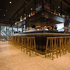 Vloer Bar Centraal Utrecht:  Muren door Designtegels
