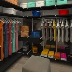 غرفة الملابس تنفيذ HOUSE&HOME