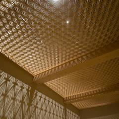 津田沼の狭小住宅: 株式会社スタジオ・チッタ Studio Cittaが手掛けた壁です。