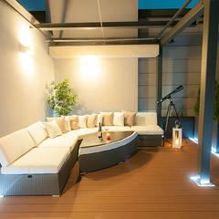 Aranżacja tarasu: styl , w kategorii Taras zaprojektowany przez Perfect Space