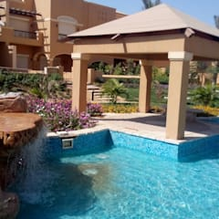 ديار بارك - القاهرة الجديدة:  حديقة تنفيذ Alnada Landscaping, تبسيطي