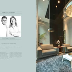 Projeto Comercial Corredores, halls e escadas tropicais por Simon Ráfaga e Taline Rabelo - Duorum Arquitetura Tropical