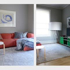 Town House, Sussex.:  Media room by CHALKSPACE