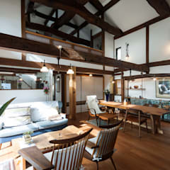 森村厚建築設計事務所:  tarz Oturma Odası