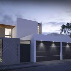 Casa IL: Casas de estilo  por CDR CONSTRUCTORA, Moderno