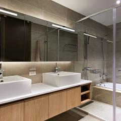 等化器 ─ 微笑曲線;Equalizer—The Smile Curve:  浴室 by 禾光室內裝修設計 ─ Her Guang Design