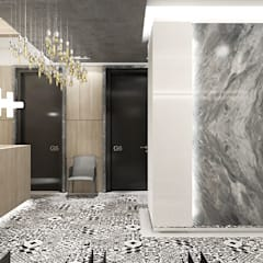 wnętrze kliniki stomatologicznej: styl , w kategorii Kliniki zaprojektowany przez ARTDESIGN architektura wnętrz