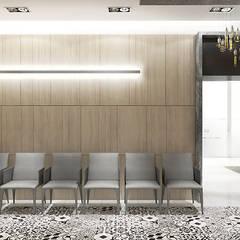 poczekalnia w klinice stomatologicznej: styl , w kategorii Kliniki zaprojektowany przez ARTDESIGN architektura wnętrz