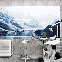 projekt gabinetu stomatologicznego: styl , w kategorii Kliniki zaprojektowany przez ARTDESIGN architektura wnętrz