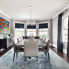 Dining Rooms & Breakfast Nooks:  Dining room by Clean Design