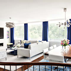 Living Room:  Living room by Clean Design