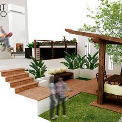 Proyecto RR: Terrazas de estilo  por SANT1AGO arquitectura y diseño