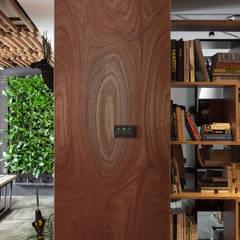 Edificios de oficinas de estilo  por 禾光室內裝修設計 ─ Her Guang Design,