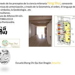 Estudio Casco Vello .Vigo: Estudios y despachos de estilo  de Feng Shui El Ocho Mágico