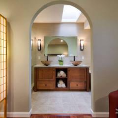 Yoko Oda Interior Design - Zen Bathroom - Interior 1:  Badezimmer von Chibi Moku